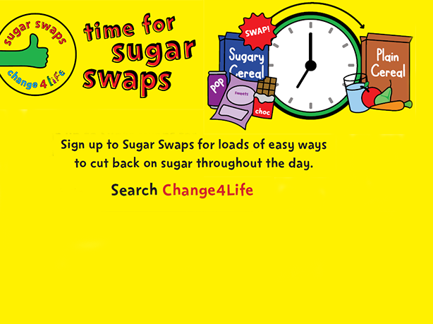 Change4Life Sugar Swap campaign